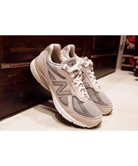 "Used ""Gray Color"" Shoes  Men's New balance M990v4  nubuck"