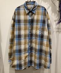 CATTA(カッタ) REGULAR WIDE SHIRTS-OXFORD CHECK(レギュラーワイドシャツ-オックスフォードチェック)