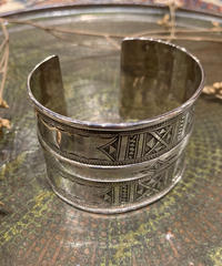 Touareg Silver(トゥアレグ シルバー) bangle 23(mural / wide)