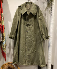 """Vintage""""military""""French Army MotorCycle Coat Deadstock フランス軍 モーターサイクルコート デットストック"""
