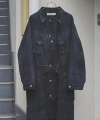 8/18online販売開始予定 issuethings (イシューシングス)  type2 black (white dyeing)