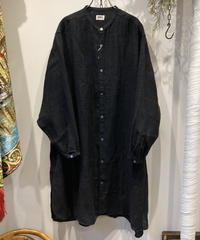 BRENA(ブレナ) TRAVAIL ONEPIECE  French Deadstock Antique Linen(フレンチ アンティークリネン ワンピース)