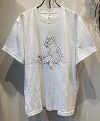 どんこさん×「COFFEE OR TEE」刺繍半袖Tシャツ