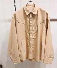 FACCIES(ファッチィズ) Organic Western Piping Shirt