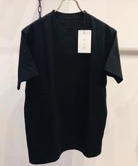 「着もちいい服」 F/W FACE S/S SUPIMA T-SHIRT BLACK