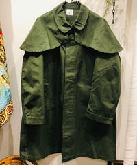 "Vintage ""French Army"" Cotton Frock Coat"