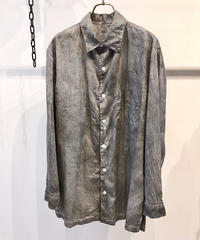 SOWBOW (ソウボウ)  Type B Cotton/Silk regular collar Shirt