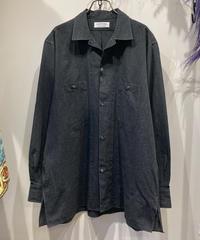 MAATEE&SONS (マーティーアンドサンズ)  Chambray Open Collar Work Shirt(シャンブレーオープンカラーワークシャツ)