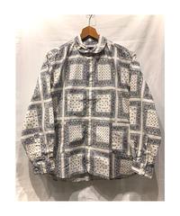 CATTA(カッタ) SIDE POCKET PAISLEY SHIRTS サイドポケットペイズリーシャツ