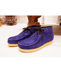 STOCK:NO(ストックナンバー)MB18_E11/NAVY 3HOLE MOCCASIN SHOES 別注
