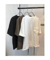 DELICIOUS(デリシャス)NORA Drawstring T-Shirts / Unisex (ノラ ドローストリング Tシャツ)