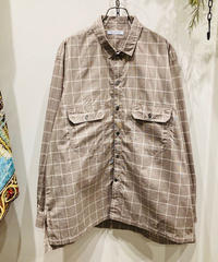 CATTA(カッタ)   W POCKET SHIRTS-WINDOWPANE