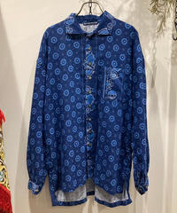 TIGRE BROCANTE (ティグルブロカンテ) pirates shirt Indian botanical