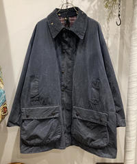 "Vintage Over Size Barbour ""BORDER"" Reproof Navy"