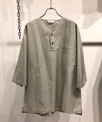 FUJITO (フジト)  Henley Neck Shirt cotton100%