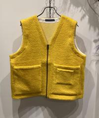 TIGRE BROCANTE (ティグルブロカンテ) V Neck W Pocket Vest(ブイネック ダブルポケットベスト)