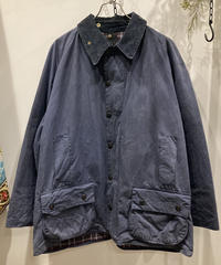 "Vintage Over Size Barbour ""BEAUFORT"" Reproof Navy"
