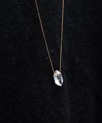 Diamond Quartz Long Necklace /80cm