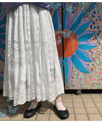 透けレースロングスカート(NO.8411)