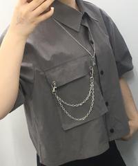 🦋蝶チェーンsetシャツ🦋(NO.6784)