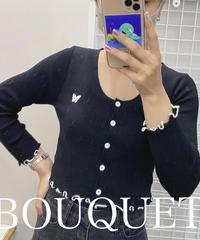 バタフライ刺繍カーディガン(NO.7319)