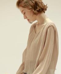 court plis blouse