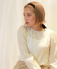puff rétrécir blouse