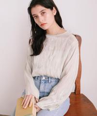 shine plis blouse