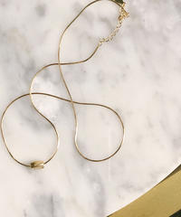 poire gold necklace
