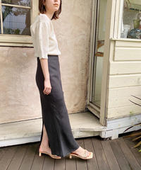 blow skirt 【charcoal 】