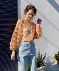 blouse en plume