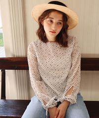 femy dot blouse