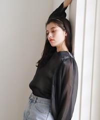 glossy blouse