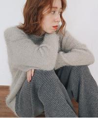 loose shaggy knit