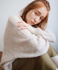 loose angora knit