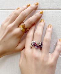 wave shell ring