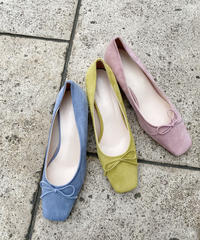 heel ballet pumps