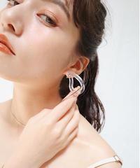 clear pierce/earring