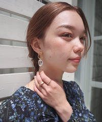 drop pierce/earring