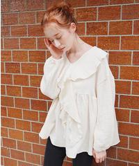 fluffy blouse