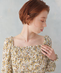 canola  flower blouse