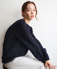 simple mohair knit