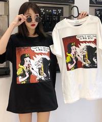 キャラクターデザインtシャツ