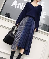 異MIX素材スカート