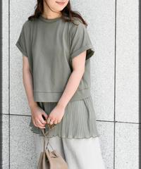 プリーツインナーSET バックシャンTシャツ [212CB007]