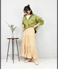 カツラギ BIGシルエットジャケット khaki [204FB021-69]