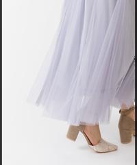 ラメチュール切替スカート light gray [193CB014-95]