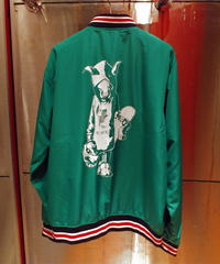 MUTSUYO Stadium Jacket Green