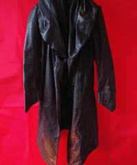 【Yasuyuki Ishii】Leather Coat (Used)