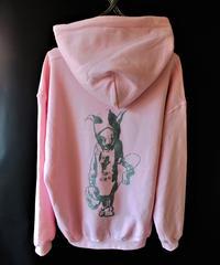 【Bug Screaming】MUTSUYO Hoodie Pink